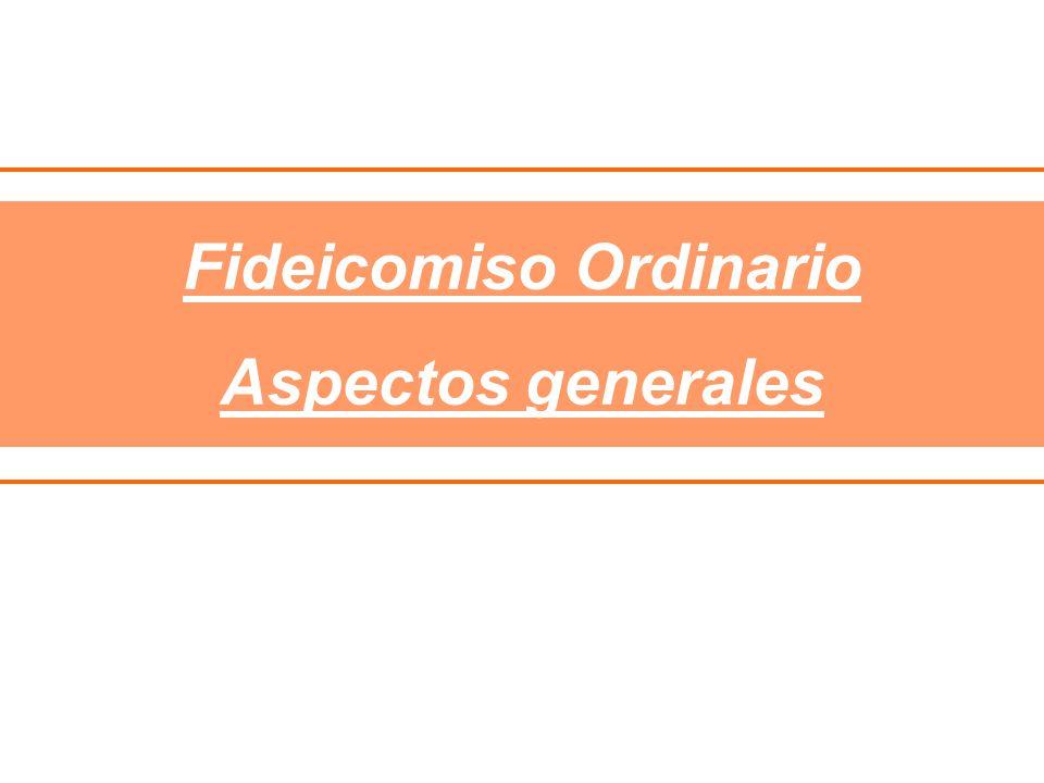 Fideicomiso Ordinario