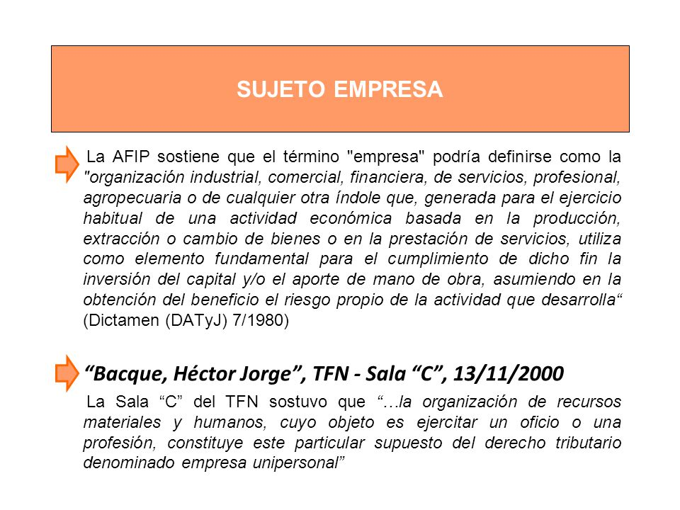 Bacque, Héctor Jorge , TFN - Sala C , 13/11/2000