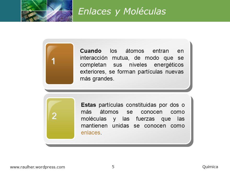 Enlaces y Moléculas 1.