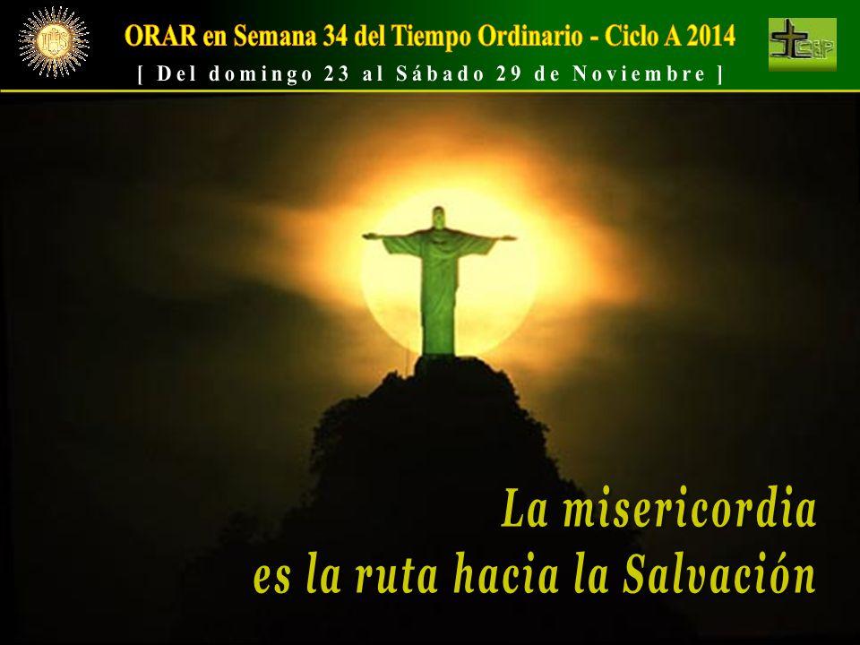 ORAR en Semana 34 del Tiempo Ordinario - Ciclo A 2014