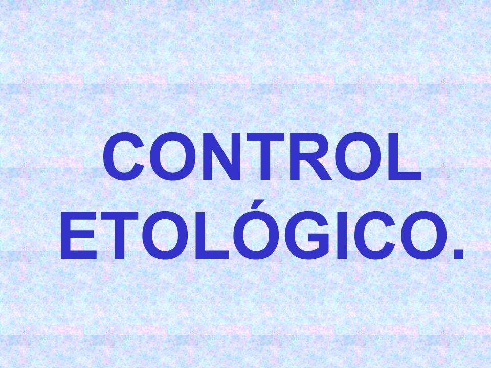 CONTROL ETOLÓGICO.