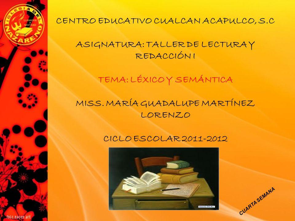 CENTRO EDUCATIVO CUALCAN ACAPULCO, S.C