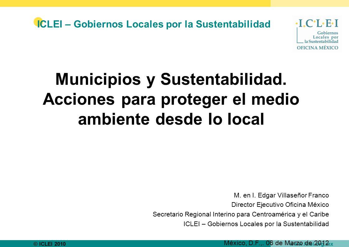 ICLEI – Gobiernos Locales por la Sustentabilidad