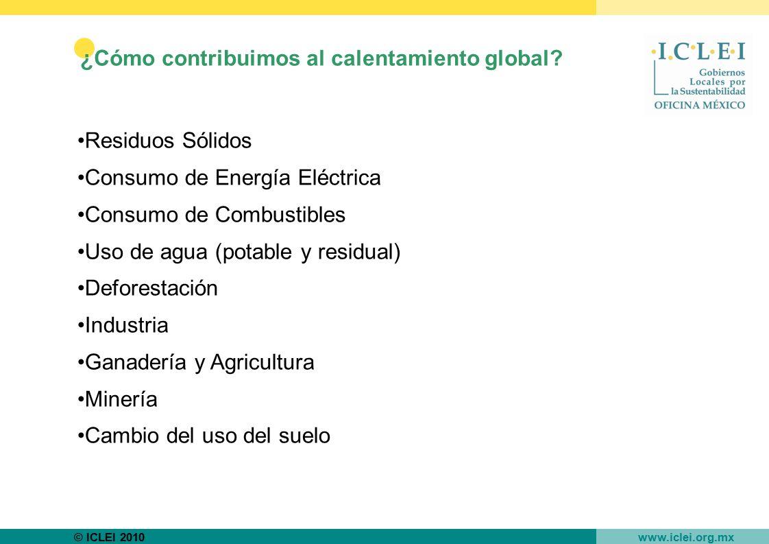 ¿Cómo contribuimos al calentamiento global