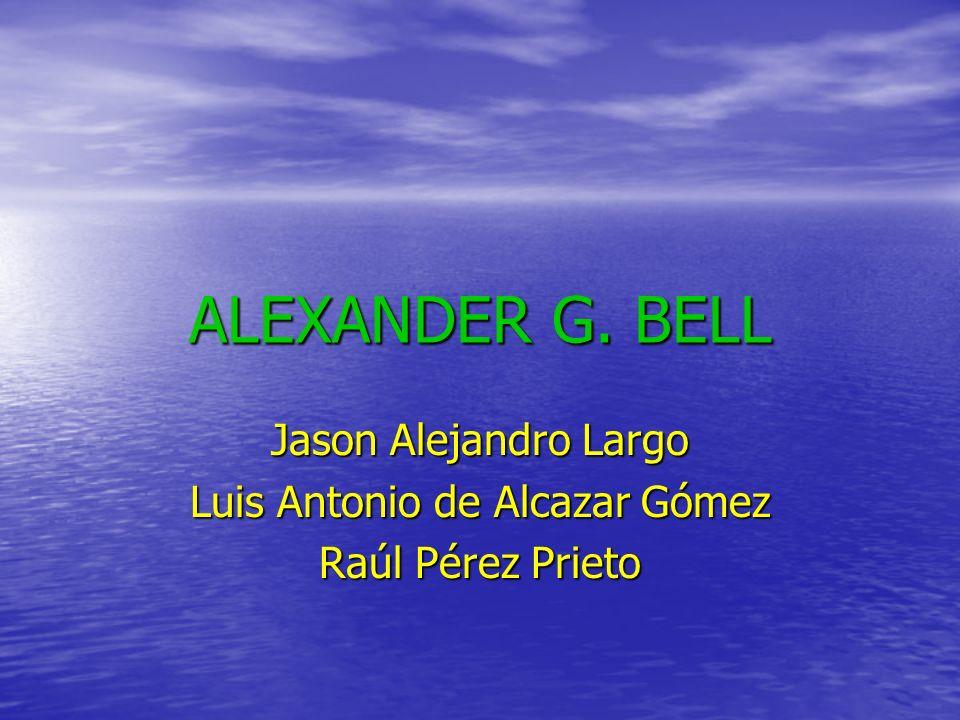 Jason Alejandro Largo Luis Antonio de Alcazar Gómez Raúl Pérez Prieto