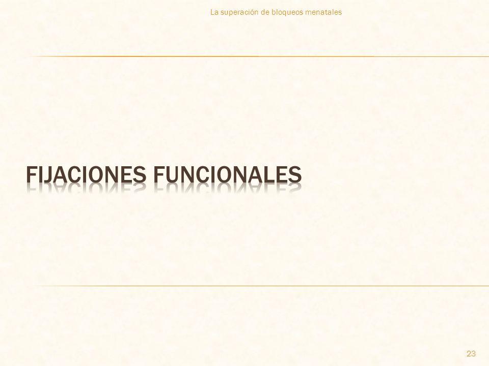 FIJACIONES FUNCIONALES