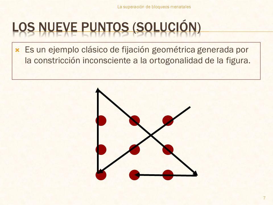 Los nueve puntos (solución)