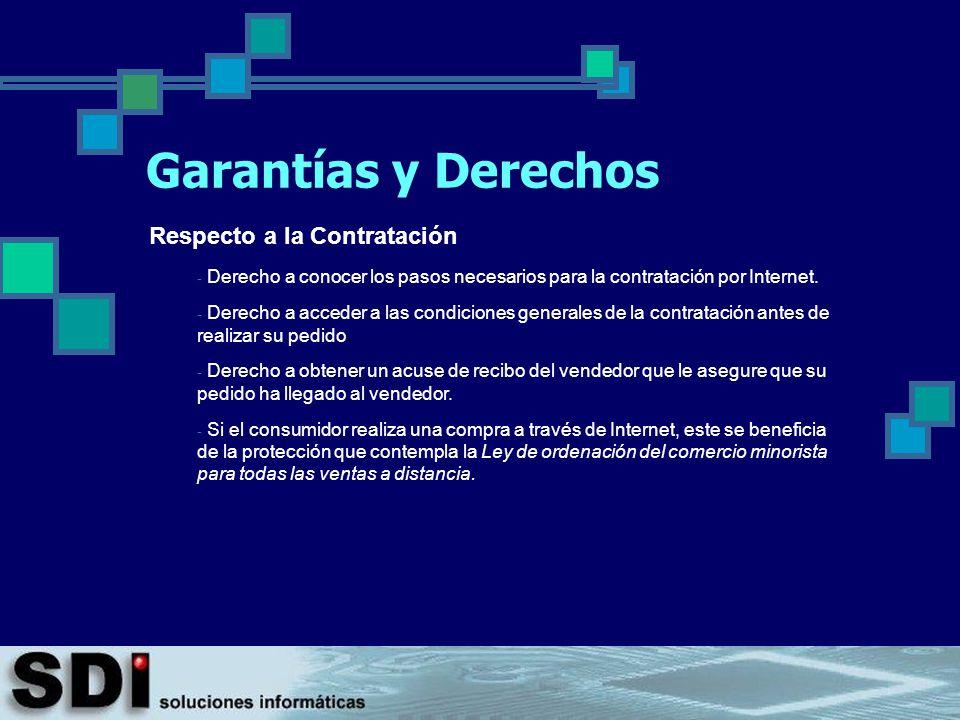 Garantías y Derechos Respecto a la Contratación
