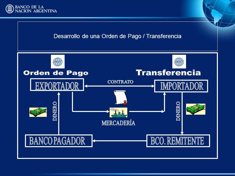 Desarrollo de una Orden de Pago / Transferencia