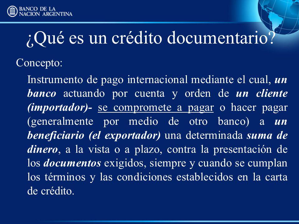 ¿Qué es un crédito documentario