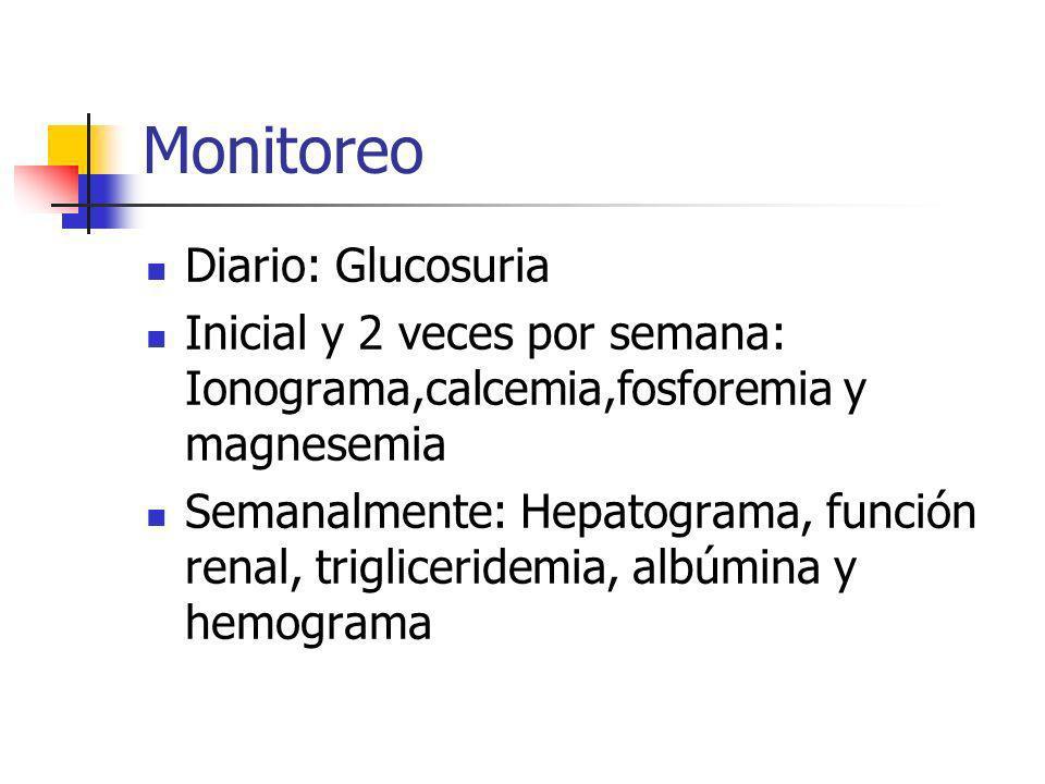 Monitoreo Diario: Glucosuria