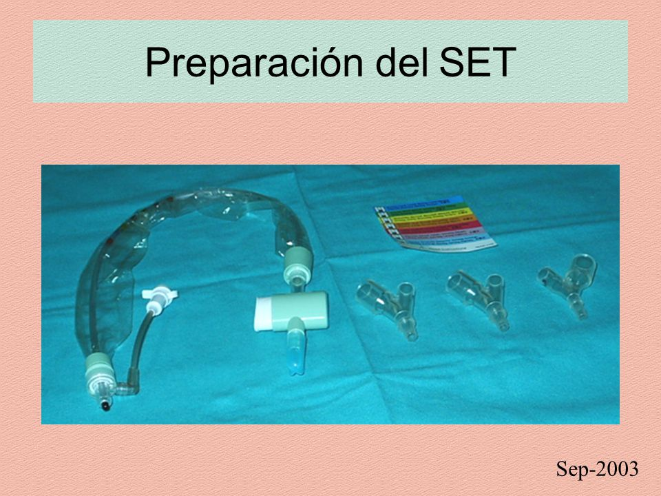 Preparación del SET Sep-2003