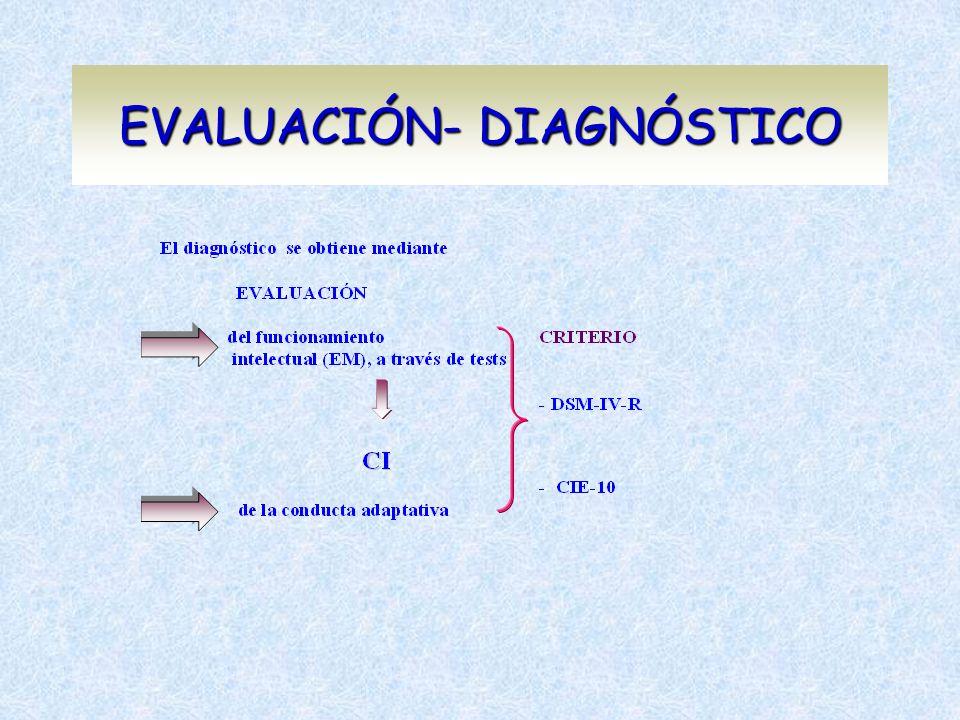 EVALUACIÓN- DIAGNÓSTICO