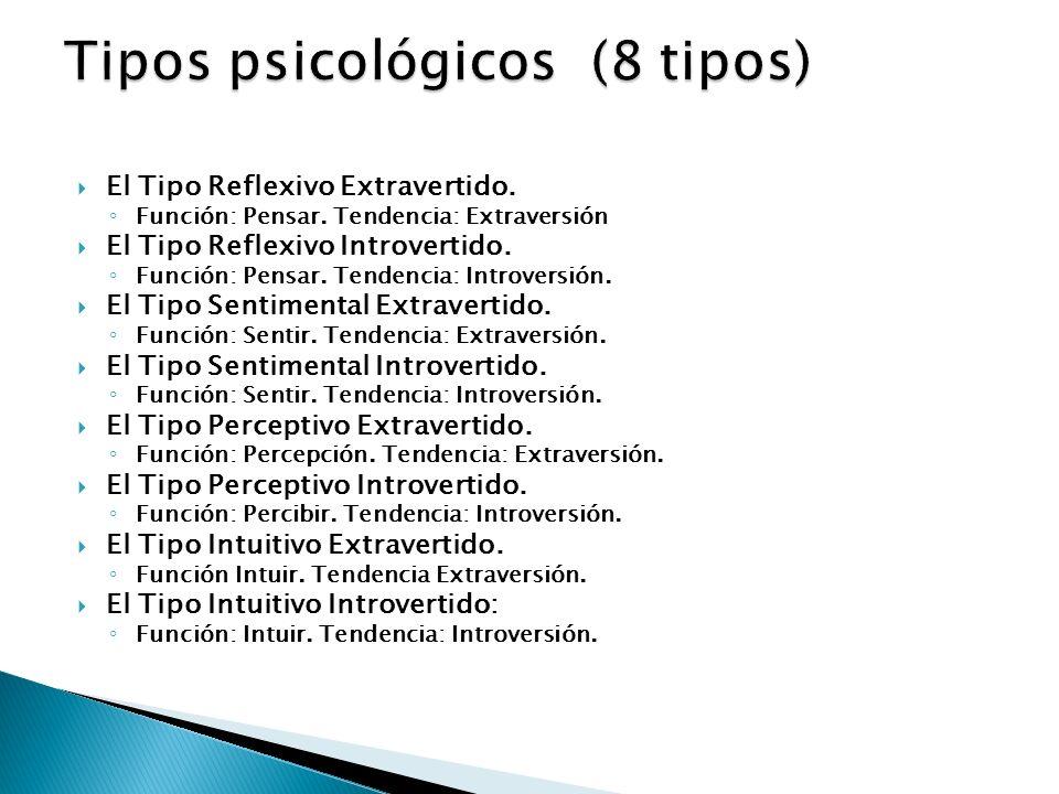 Tipos psicológicos (8 tipos)