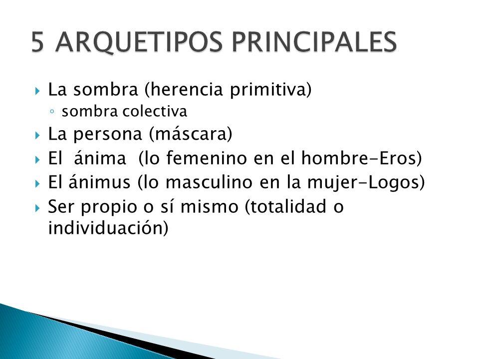 5 ARQUETIPOS PRINCIPALES