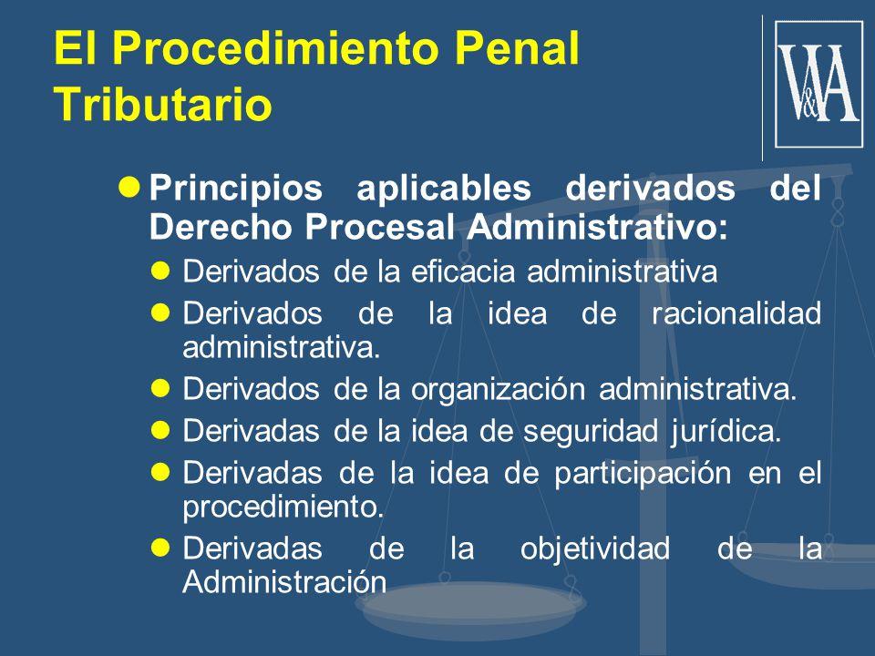 El Procedimiento Penal Tributario