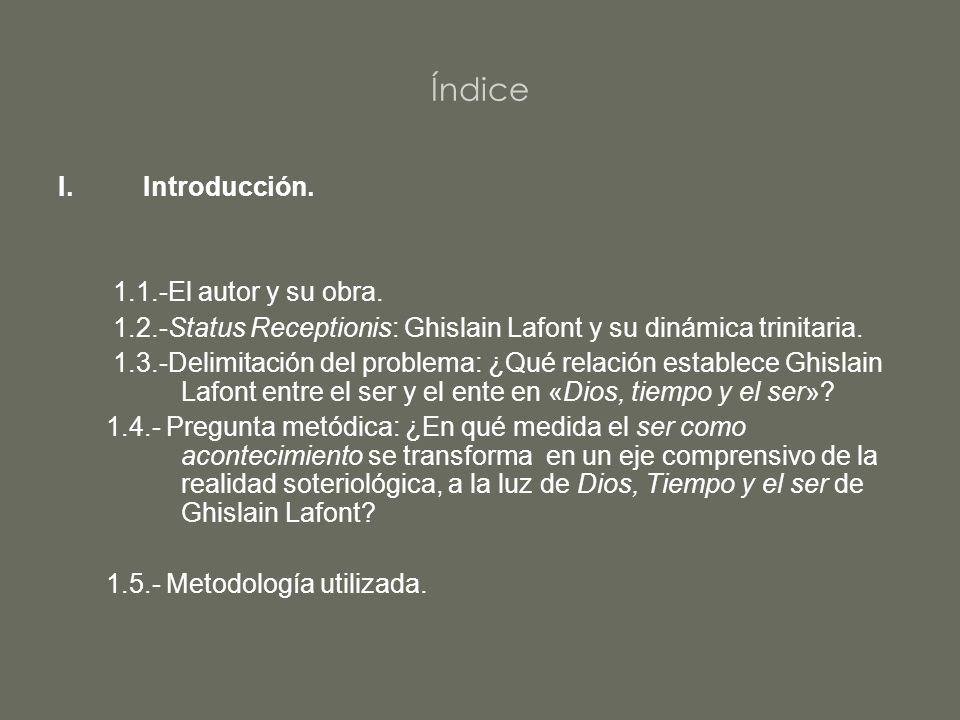 Índice Introducción. 1.1.-El autor y su obra.