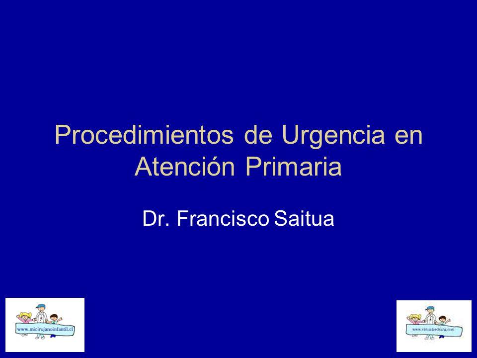 Procedimientos de Urgencia en Atención Primaria