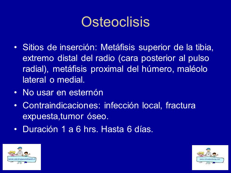 Osteoclisis