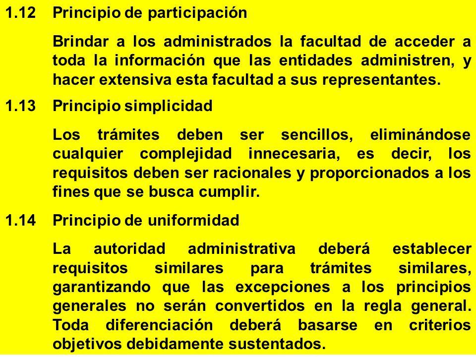 1.12 Principio de participación