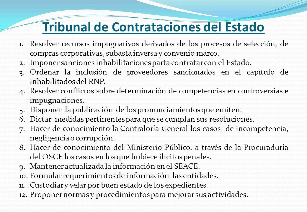 Tribunal de Contrataciones del Estado