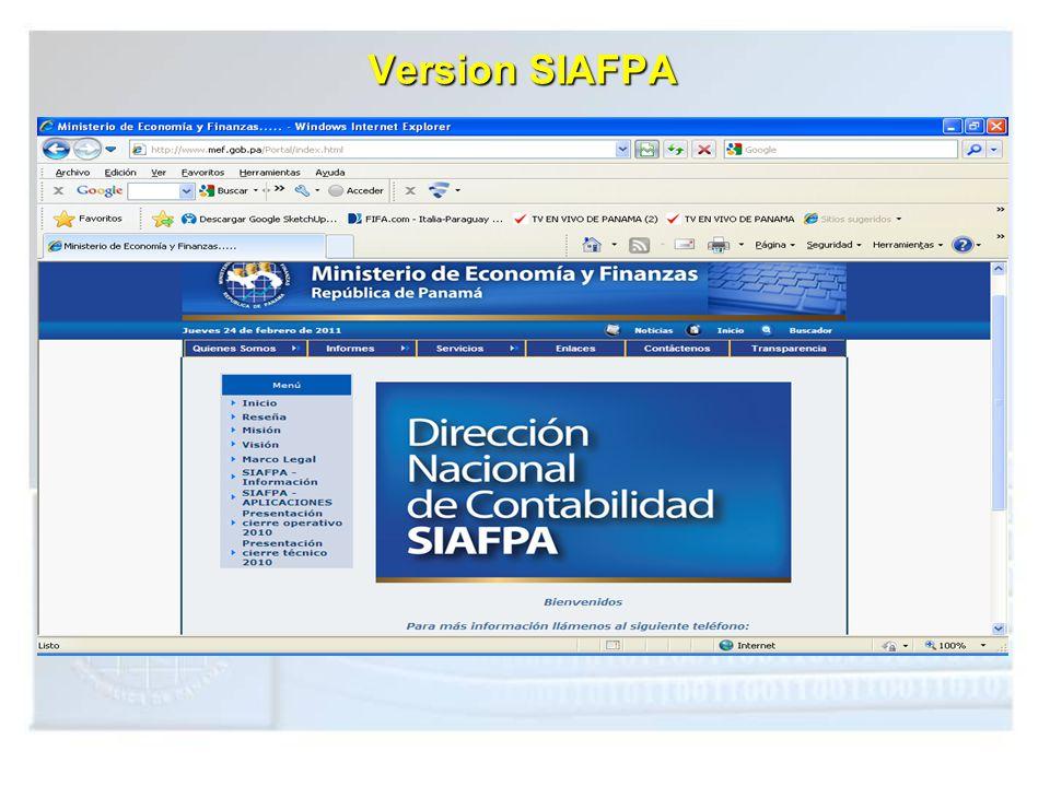 Version SIAFPA