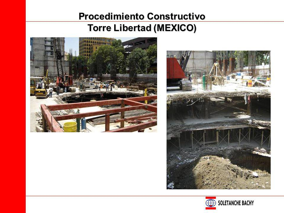 Procedimiento Constructivo Torre Libertad (MEXICO)