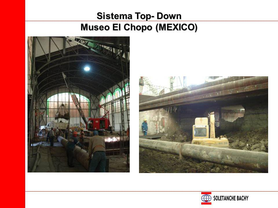 Sistema Top- Down Museo El Chopo (MEXICO)