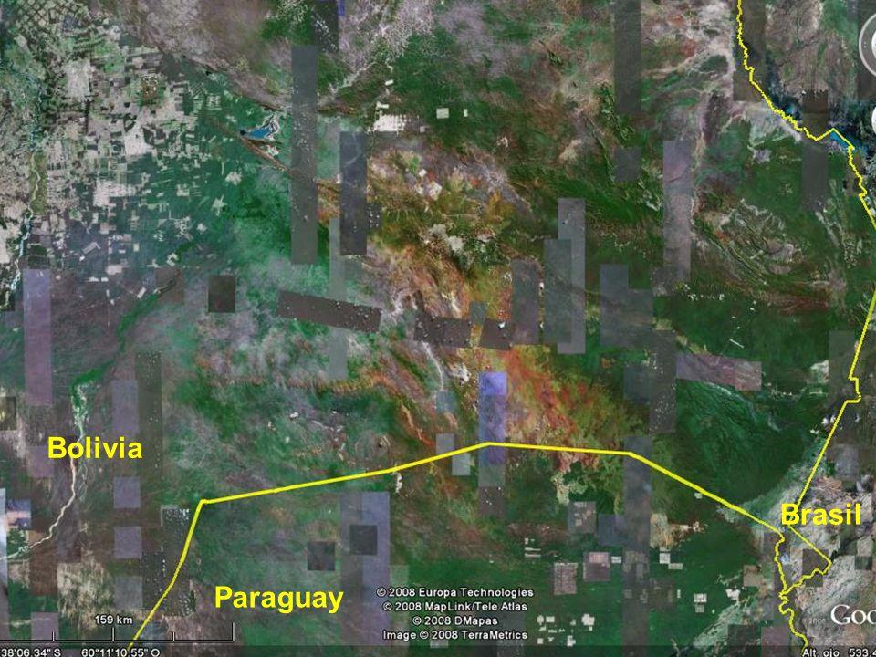 Bolivia Paraguay Brasil