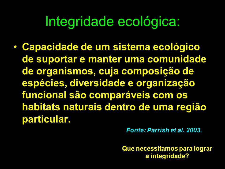 Integridade ecológica: