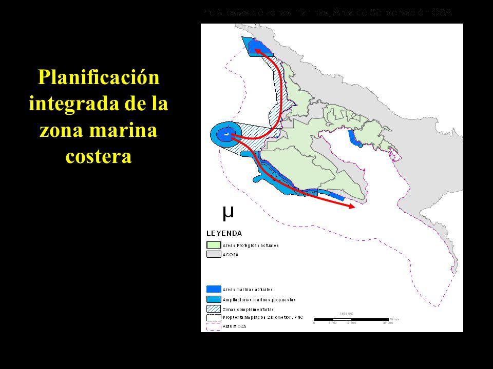 Planificación integrada de la zona marina costera