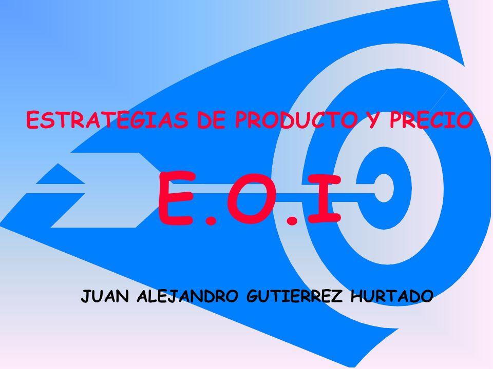 ESTRATEGIAS DE PRODUCTO Y PRECIO