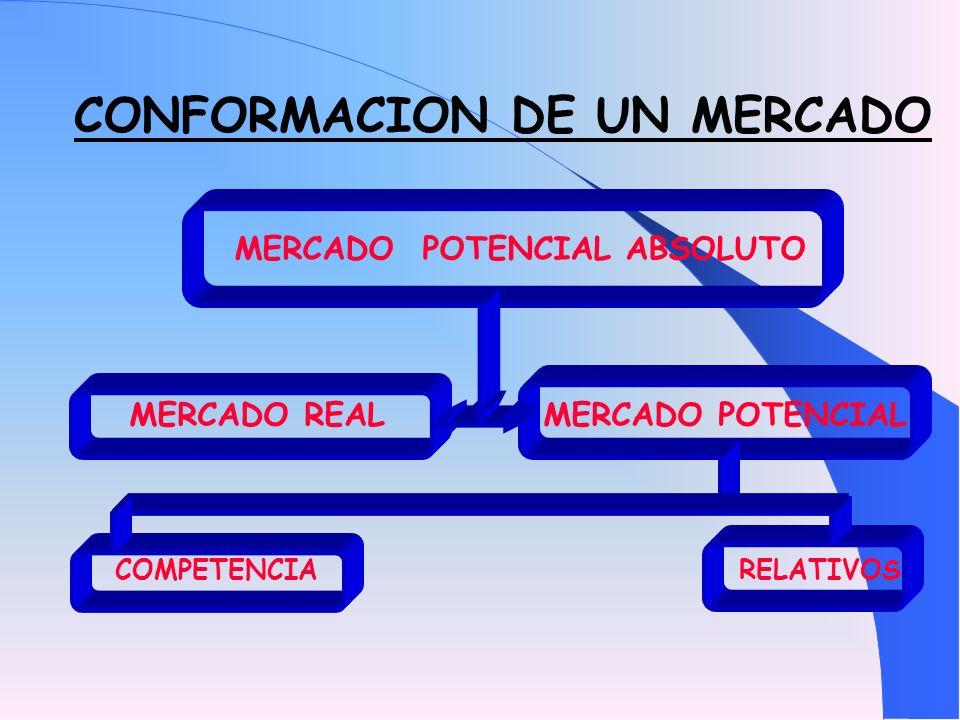 CONFORMACION DE UN MERCADO