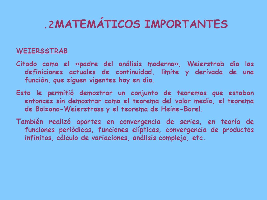 2. MATEMÁTICOS IMPORTANTES