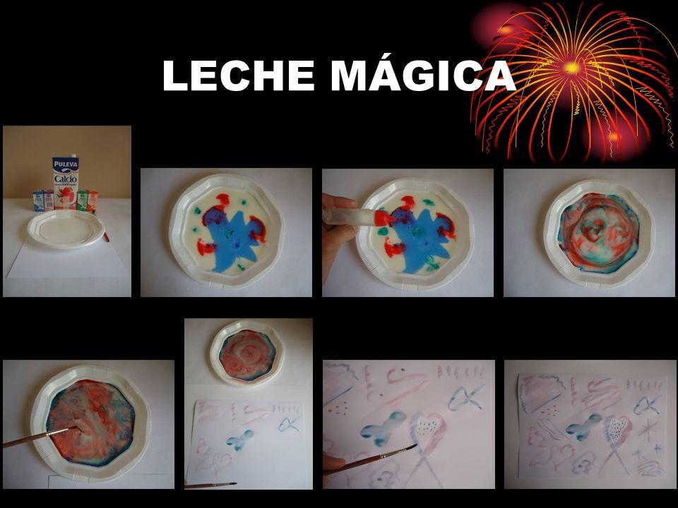 LECHE MÁGICA
