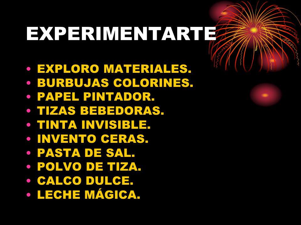 EXPERIMENTARTE EXPLORO MATERIALES. BURBUJAS COLORINES. PAPEL PINTADOR.