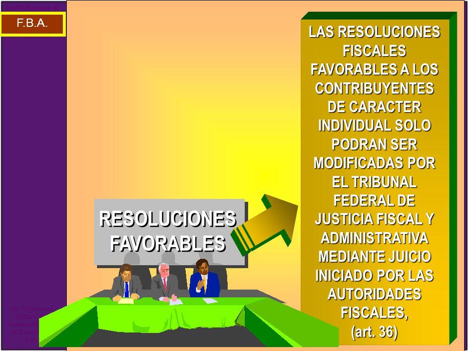 RESOLUCIONES FAVORABLES