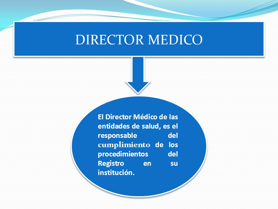 DIRECTOR MEDICO