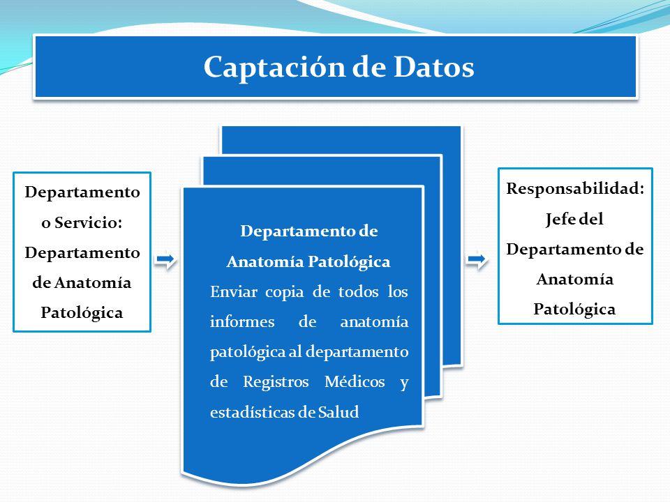 Captación de Datos Responsabilidad: