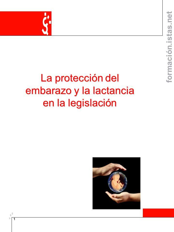 La protección del embarazo y la lactancia en la legislación