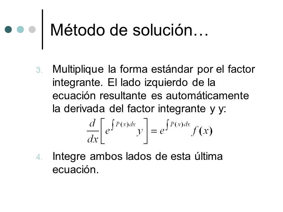 Método de solución…