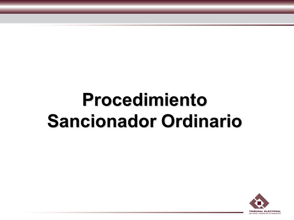 Procedimiento Sancionador Ordinario