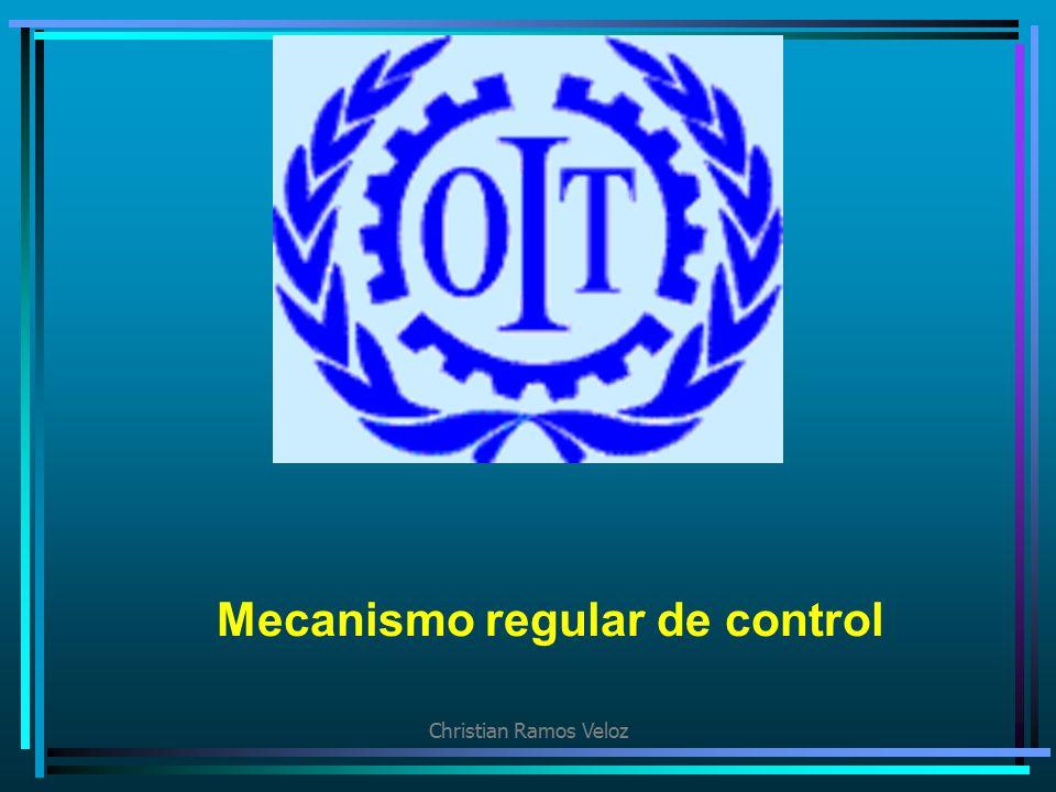 Mecanismo regular de control