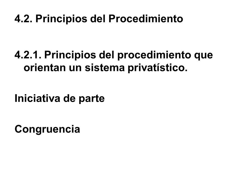 4.2. Principios del Procedimiento