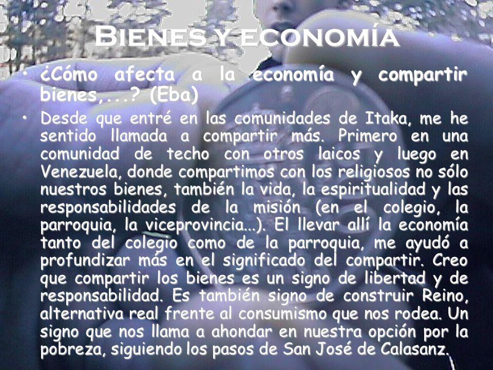 Bienes y economía ¿Cómo afecta a la economía y compartir bienes,... (Eba)