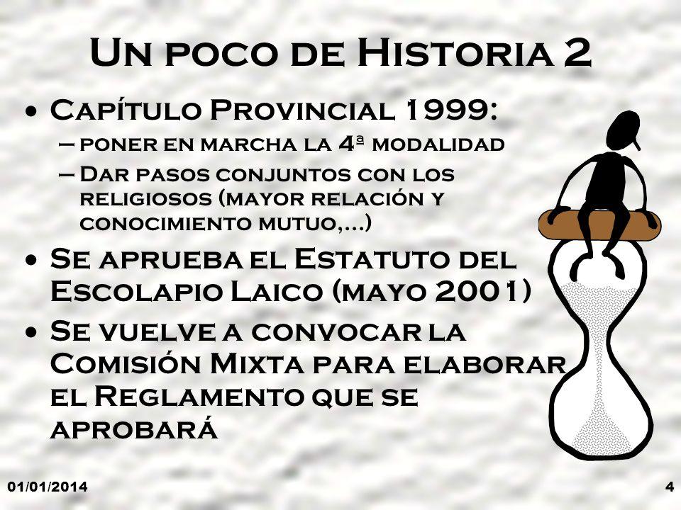 Un poco de Historia 2 Capítulo Provincial 1999:
