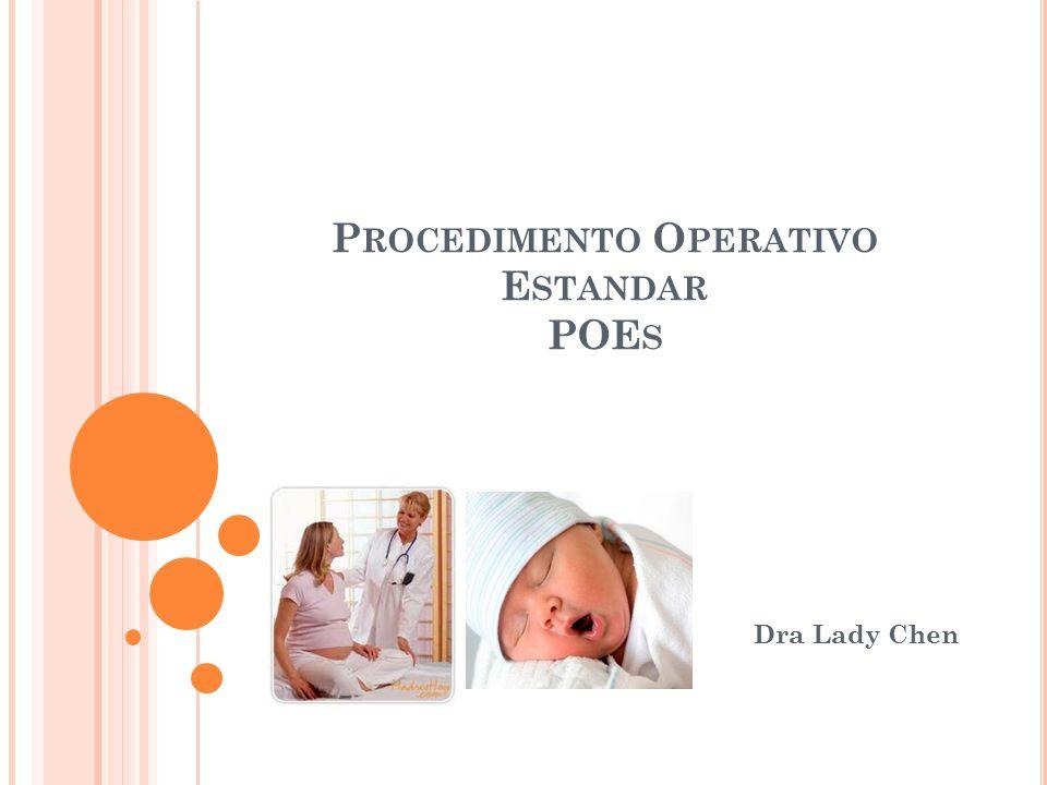 Procedimento Operativo Estandar POEs