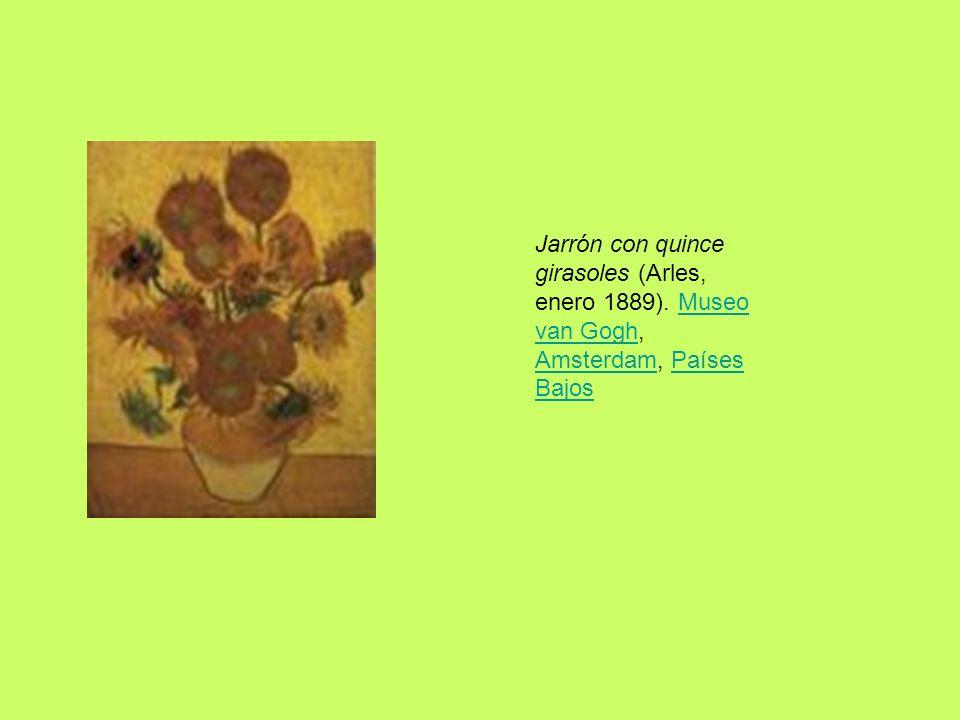 Jarrón con quince girasoles (Arles, enero 1889)