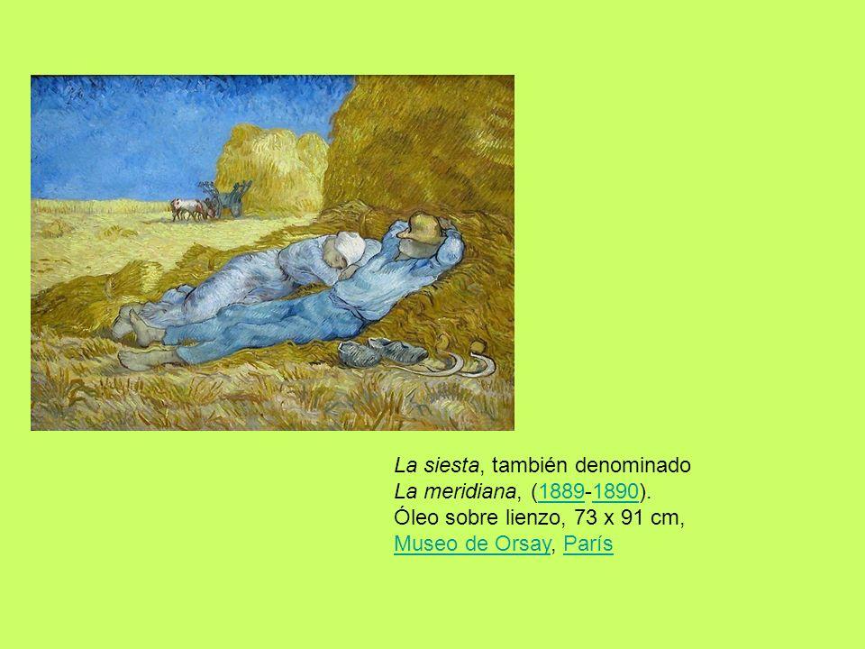 La siesta, también denominado La meridiana, (1889-1890)