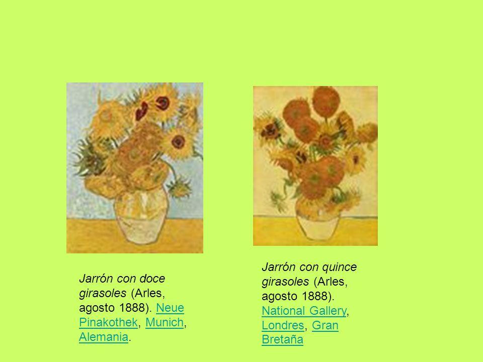 Jarrón con quince girasoles (Arles, agosto 1888)